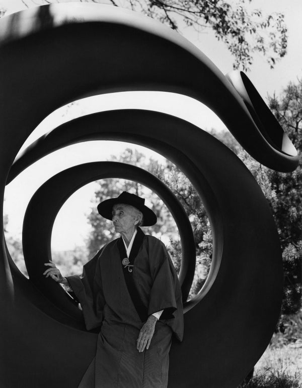 Bruce Weber. Georgia O'Keeffe, Abiquiu, N.M., 1984. Gelatin silver print, 14 x 11in. Bruce Weber and Nan Bush Collection, New York