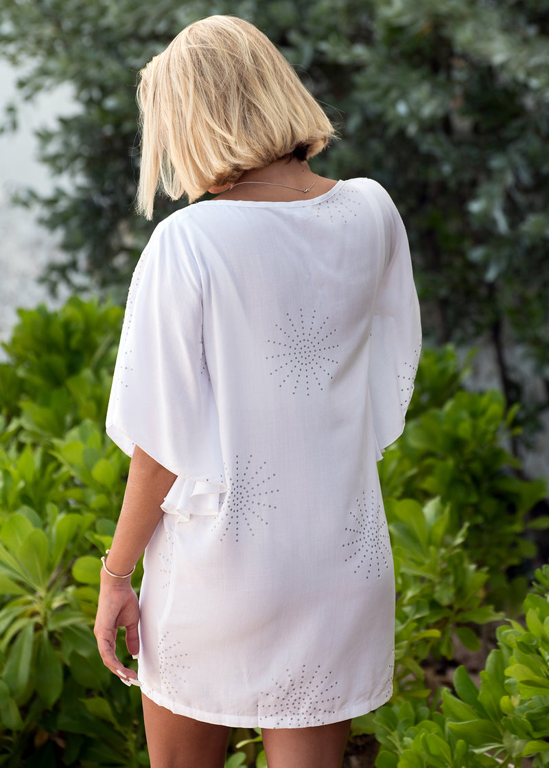 DHALIA TUNIC PIP'S STAR WHITE