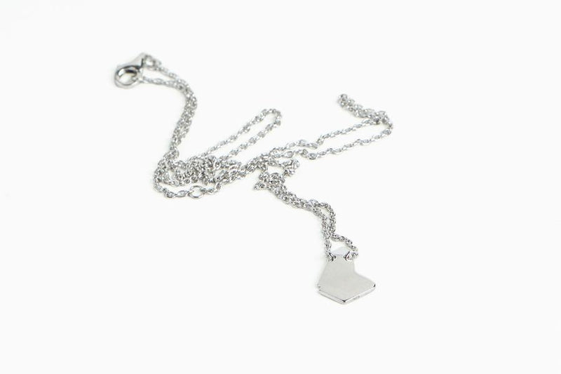GEO BARBADOS NECKLACE SILVER