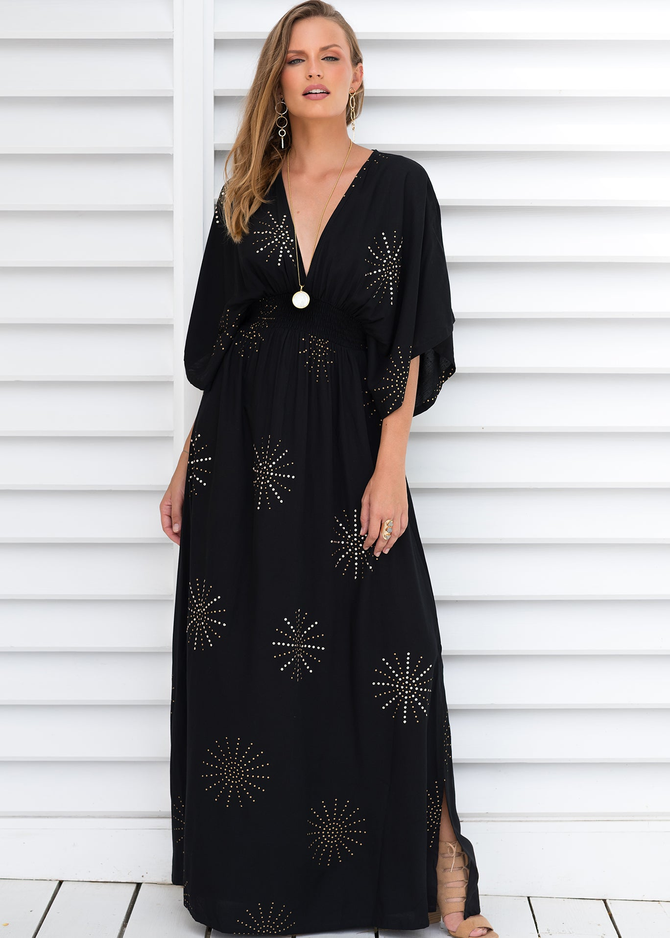 ODETTE MAXI SERENGETI MIDNIGHT