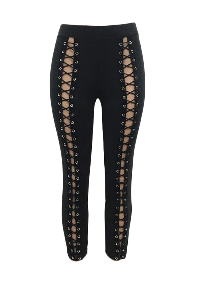 Tamia Lace Up Trousers