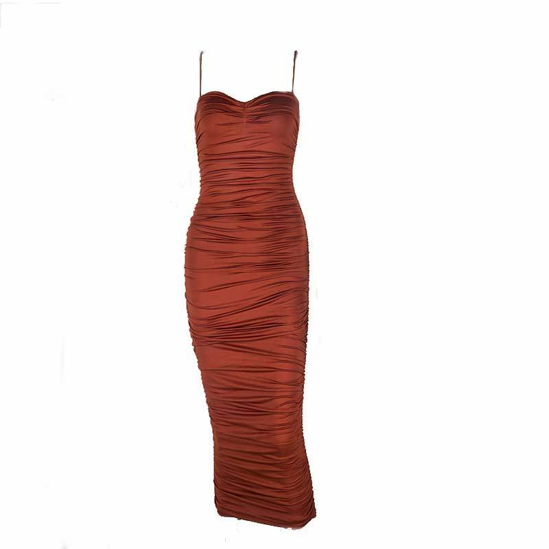 Charlie Rouched Midi Dress