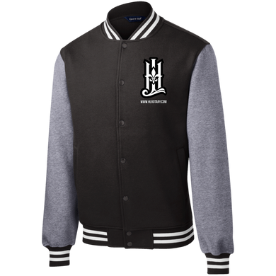 HLF Sport-Tek Fleece Letterman Jacket