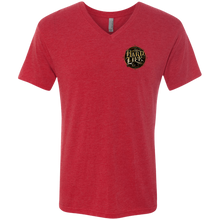 Sponsored Next Level Men's Triblend V-Neck T-Shirt