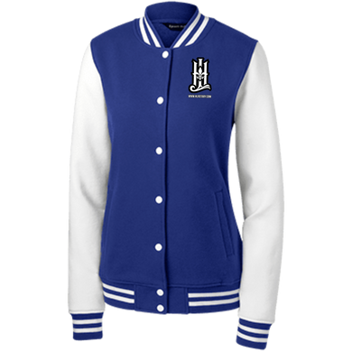HLF  Sport-Tek Women's Fleece Letterman Jacket