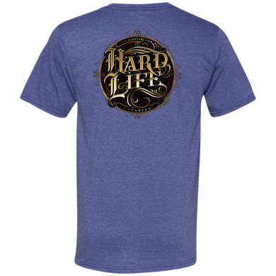 HL Men's Printed V-Neck T-Shirt