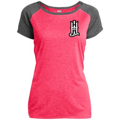 HLFW Sport-Tek Ladies Heather on Heather Performance T-Shirt