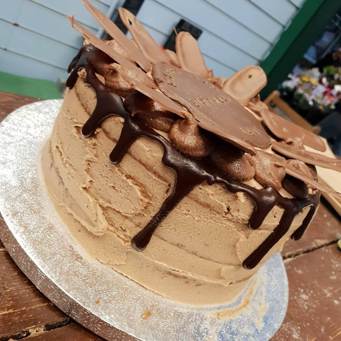 Chocolate Birthday Gateau