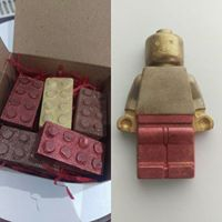 Chocolate Lego Set