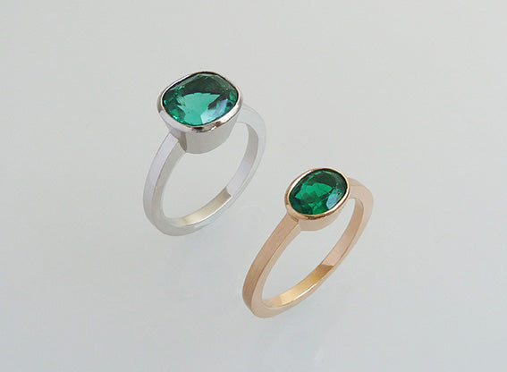 Natural Emeralds (without oil treatment) | Esmeraldas naturales (sin tratamiento)