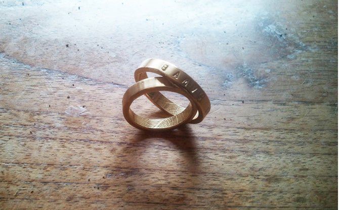 Wedding bands: DIY (do it yourself) | Argollas de matrimonio DIY (hágalas usted mismo)