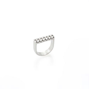 STUDS RING DOUBLE | ANILLO TACHES DOBLE