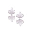 MIRRORED LEAVES EARRINGS | ARETES HOJAS ESPEJO