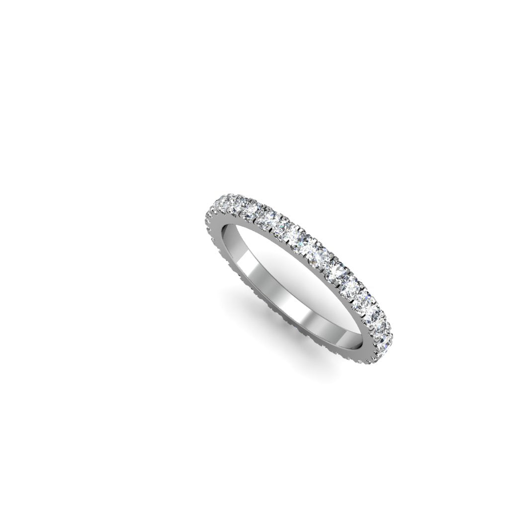 ETERNITY RING WITH DIAMONDS | ARGOLLA SIN FIN CON DIAMANTES