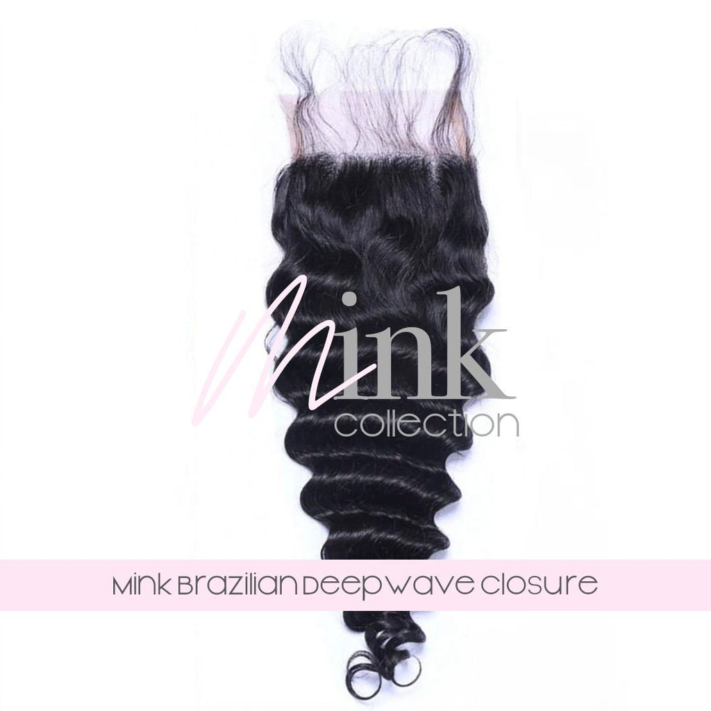 Mink Brazilian Deep Wave Closure