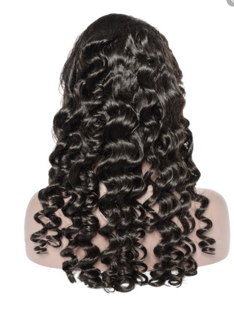 Halo Curl Lace Wig