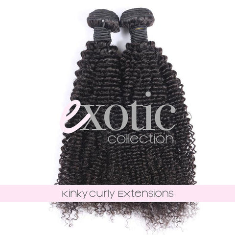 Mongolian Kinky Curl Extensions