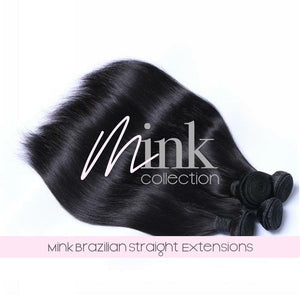 Mink Brazilian Straight Extensions