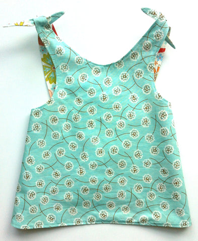 Reversible Smock Top: Dandelion