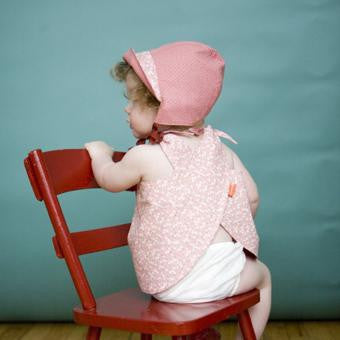 Reversible Smock Top: Apple Blossom