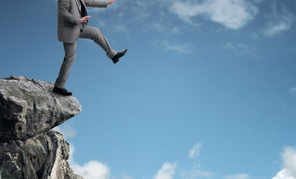 Business Advice to Jump Off a Cliff