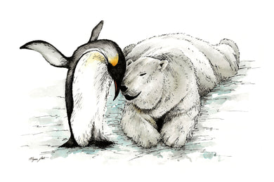 Penguin & Polar Bear