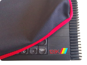 ZX SPECTRUM 128K TOASTRACK - COTTON CANVAS - TRAFFIC BLACK - DUST COVER - STYLISH - Retro Ready