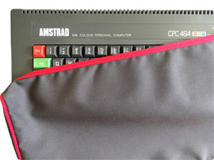 AMSTRAD CPC 464 - COTTON CANVAS - GRAPHITE GREY - DUST COVER - STYLISH - RetroReady