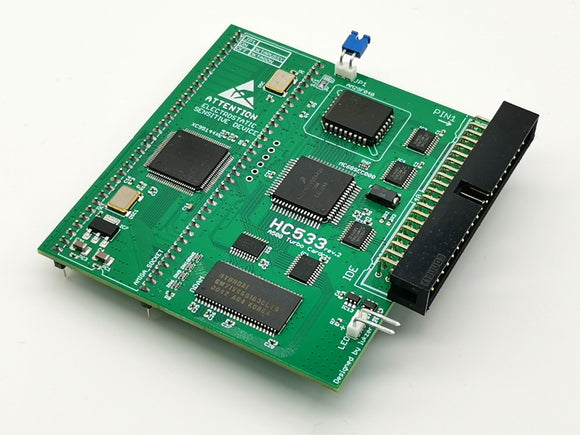 HC533 40Mhz rev2 - 8MB RAM FOR AMIGA 500 & AMIGA 500PLUS - Retro Ready