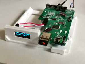 Amiga 600 / 1200 Gotek Drive - 3D Printed Bracket - OLED Display - Flash Floppy Firmware - RetroReady