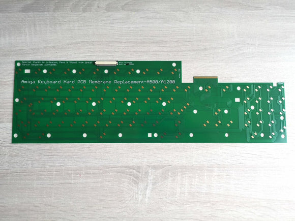 Hard Membrane Keyboard Replacement for Amiga 500 & Amiga 1200 - Retro Ready