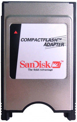 PCMCIA CF adapter Sandisk Amiga 600 1200 Compact Flash [Brand New] - Retro Ready