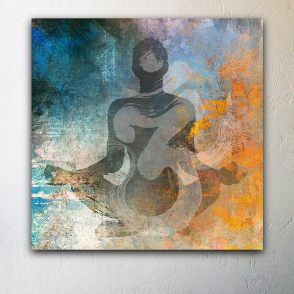 OM Impressionist Canvas Giclee Painting