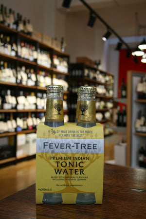 Fever Tree - Premium Indian Tonic Water 4x200ml Pack