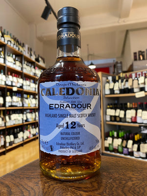Edradour - 'Caledonia' 12 YO Highland Single Malt Scotch Whisky