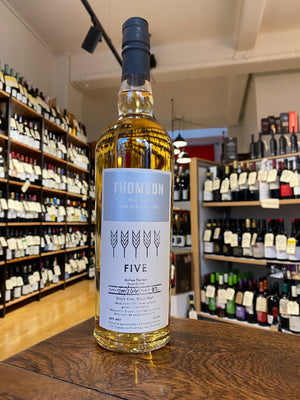 Thomson Whisky - 'Five' Single Cask NZ Single Malt Whisky