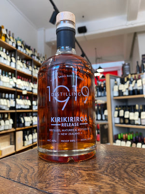 1919 Distilling - 'Kirikiriroa Release' Single Cask Micro Batch NZ Whisky