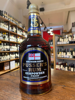 Pusser's Rum British Navy Gunpowder Proof 54.4%
