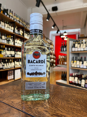 Bacardi White Rum Carta Blanca 200ml