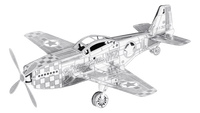 Metal Earth Mustang P- 51, 1 sheet