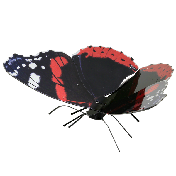 Metal Earth Red Admiral Butterfly, 1 Sheet