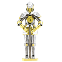 Metal Earth Armor Series-Knight, 2 Sheets