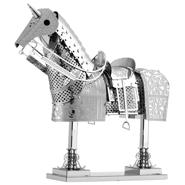 Metal Earth Armor Series-Horse, 2 Sheets