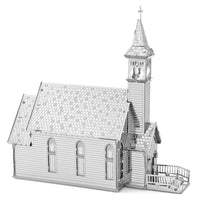 Metal Earth Old Country Church, 2 Sheets