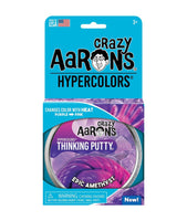 Crazy Aaron's Thinking Putty - Epic Amethyst Hypercolour 4inch Tin