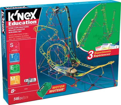 K'NEX Education Roller Coaster Building Kit