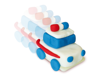 Clay - pull back cars - Ages 3 to 8