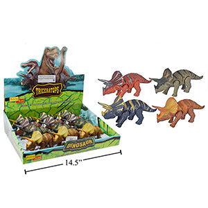 Wind Up Triceratops Dinosaur,12/dsp
