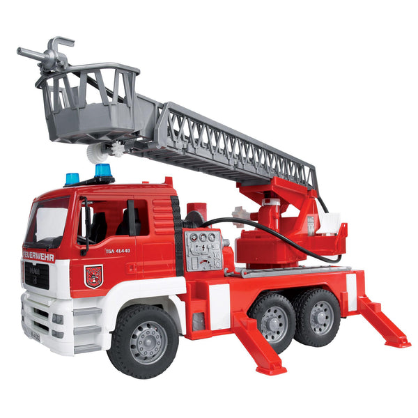 Bruder Toys MAN Fire Engine with Water Pump and Lights, Sound!