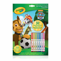 Colouring & Activity Pad, Paw Patrol